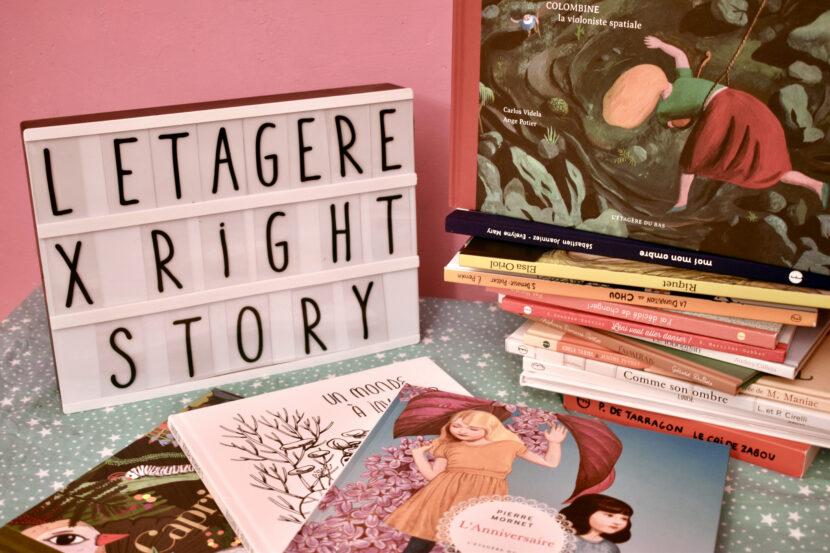 L'étagère du bas & Right Story